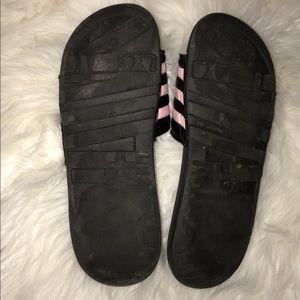 adidas Shoes - Baby pink adidas slides